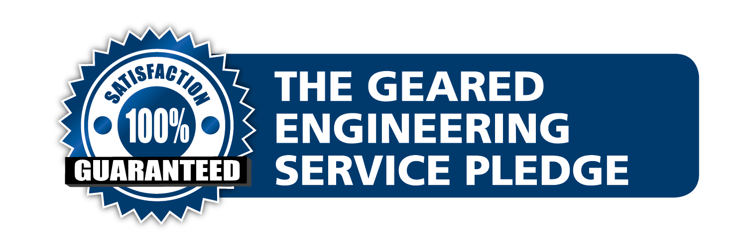 The Geared Engineering Service Pledge